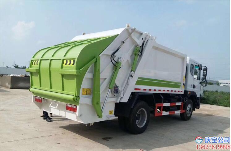 【序号19-088】压缩式垃圾车