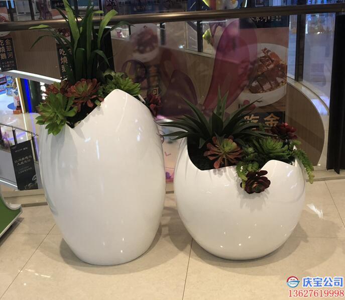 【序号19-179】BOB玻璃钢花盆,商场花盆定制