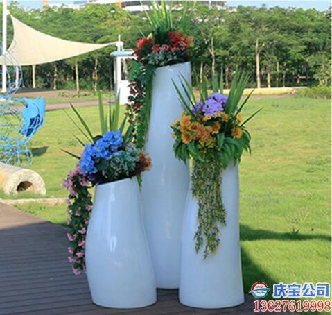 【序号19-182】玻璃钢BOB花盆,户外景观花盆