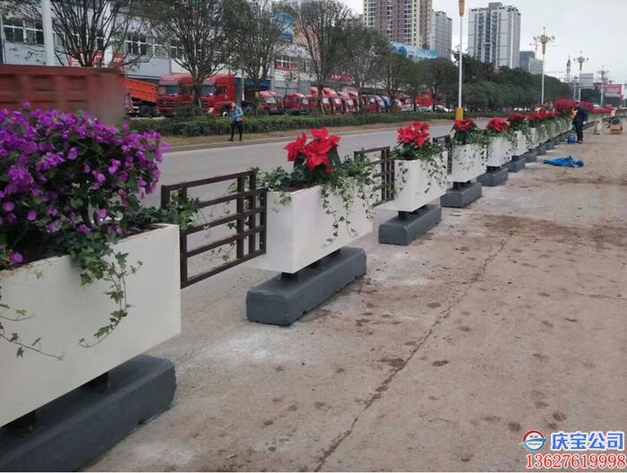 【序号19-184】街道BOB花盆花箱,景观花箱
