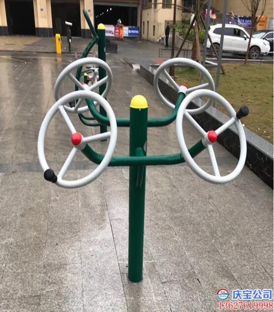 【序号19-250】BOB街道室外健身器材之大转轮