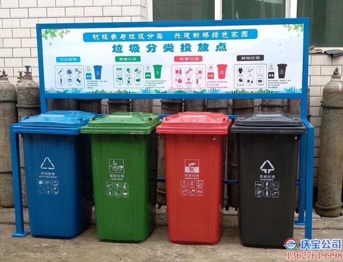 BOB巴南区垃圾分类投放站,小型垃圾分类收集站