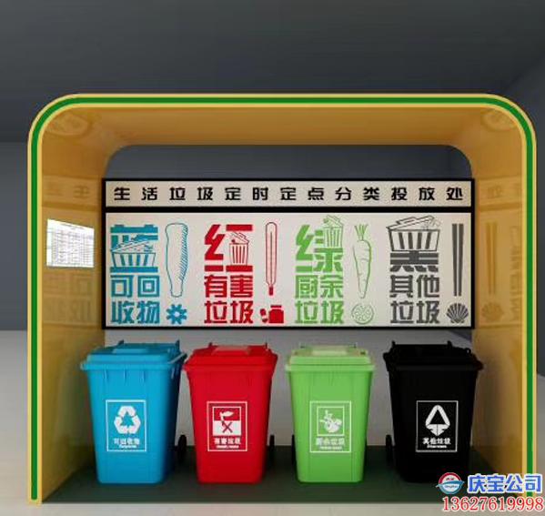 什么是垃圾分类宣传岗亭?BOB垃圾分类宣传岗亭制造厂家