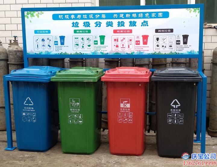 BOB巴南区垃圾分类投放站,小型垃圾分类收集站(图3)