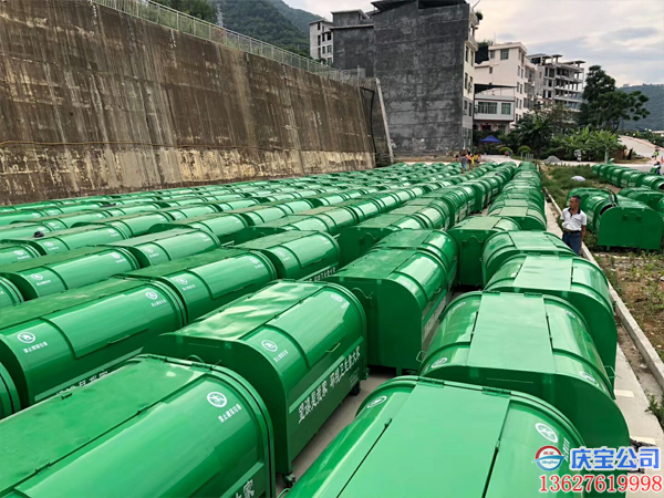 贵州望谟县环卫车垃圾箱顺利验收(图6)