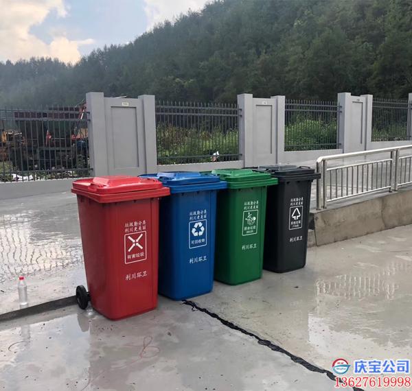 湖北利川垃圾分类塑料垃圾桶及配套小型家用分类垃圾桶工程(图4)