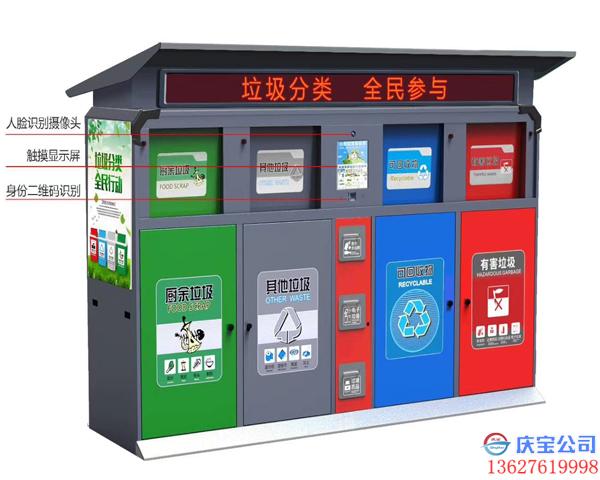 智能分类垃圾箱,垃圾分类智能垃圾桶图片展示(图8)
