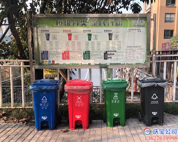 BOB小区社区垃圾分类亭设计安装厂家(图6)